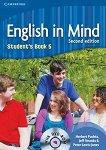 English in Mind - Second Edition: Учебна система по английски език Ниво 5 (C1): Учебник + DVD-ROM - учебник