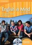 English in Mind - Second Edition: Учебна система по английски език Ниво Starter (A1): Учебник + DVD-ROM - учебник