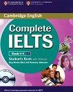 Complete IELTS: Учебна система по английски език : Ниво 4-5 (B1): Учебник с отговори + CD - Guy Brook-Hart, Vanessa Jakeman -