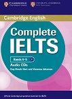 Complete IELTS: Учебна система по английски език : Ниво 1 (B1): 2 CD с аудиозаписи за задачите от учебника - Guy Brook-Hart, Vanessa Jakeman -