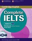 Complete IELTS: Учебна система по английски език : Ниво 1 (B1): Учебна тетрадка без отговори + CD - Rawdon Wyatt - продукт
