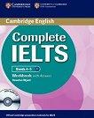 Complete IELTS: Учебна система по английски език : Ниво 1 (B1): Учебна тетрадка с отговори + CD - Rawdon Wyatt - книга