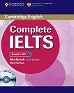 Complete IELTS: Учебна система по английски език : Bands 5 - 6.5 (B2): Учебна тетрадка с отговори + CD - Mark Harrison - продукт