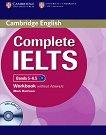 Complete IELTS: Учебна система по английски език : Ниво 2 (B2): Учебна тетрадка без отговори + CD - Mark Harrison - продукт