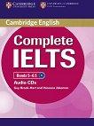 Complete IELTS: Учебна система по английски език : Ниво 2 (B2): 2 CD с аудиозаписи за задачите от учебника - Guy Brook-Hart, Vanessa Jakeman -