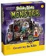 """Създай сам лаборатория за чудовища - Творчески комплект от серията """"Creativity for Kids"""" -"""