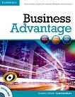 Business Advantage: Учебна система по английски език : Ниво Intermediate: Учебник + DVD - Michael Handford, Martin Lisboa, Almut Koester, Angela Pitt -