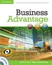 Business Advantage: Учебна система по английски език : Ниво Upper-intermediate: Учебник + DVD - Michael Handford, Martin Lisboa, Almut Koester, Angela Pitt -