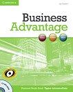 Business Advantage: Учебна система по английски език : Ниво Upper-intermediate: Помагало за самостоятелна подготовка + CD - Joy Godwin -