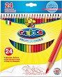 Цветни моливи - Комплект от 24 цвята -