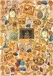Декупажна хартия -  Пискюли 052 - Дизайн на Anne Zada -