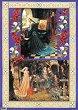 Декупажна хартия - Дами от Средновековието 061 - Дизайн на Anne Zada -