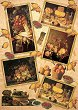 Декупажна хартия - Натюрморт с плодове 075 - Дизайн на Anne Zada -
