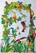 Декупажна хартия - Австралийски птици 583 - Дизайн на Beate Henrich