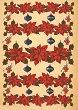Декупажна хартия - Коледни звезди 323 - Дизайн на Karen Kiely -