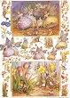 Декупажна хартия - Феите от моята градина 103