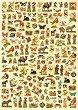 Декупажна хартия - Викториански птици и животни 516 - Дизайн на Russell Leonard -
