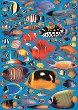 Декупажна хартия - Рифови рибки 529 - Дизайн на Russell Leonard -