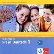 Mit Erfolg zu Fit in Deutsch: Учебна система по немски език : Ниво 1: CD -