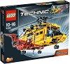 """Хеликоптер - 2 в 1 - Детски конструктор от серията """"Technic"""" -"""