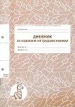 Дневник за издаване на трудови книжки - формуляр
