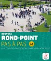Nouveau Rond-Point: Учебна система по френски език : Ниво 1 (A1): Учебник + учебна тетрадка + CD - Josiane Labascoule, Christian Lause, Corinne Royer -