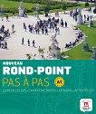 Nouveau Rond-Point: Учебна система по френски език Ниво 1 (A1): Учебник + учебна тетрадка + CD -