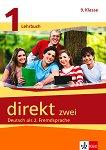 Direkt zwei - ниво 1 (A1): Учебник и учебна тетрадка за 9. клас + 2 CD : Учебна система по немски език - Georgio Motta, Beata Cwikowska -