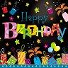 Салфетки за декупаж - Честит рожден ден! - Пакет от 20 броя -
