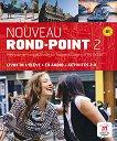 Nouveau Rond-Point: Учебна система по френски език Ниво 2 (B1): Учебник + CD -
