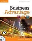 Business Advantage: Учебна система по английски език : Ниво Advanced: Учебник + DVD - Martin Lisboa, Michael Handford -