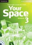 Your Space - Ниво 3 (B1): Учебна тетрадка + CD Учебна система по английски език - учебна тетрадка