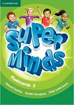 Super Minds - ниво 2 (Pre - A1): Флашкарти по английски език - Herbert Puchta, Gunter Gerngross, Peter Lewis-Jones -