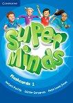 Super Minds - ниво 1 (Pre - A1): Флашкарти по английски език -