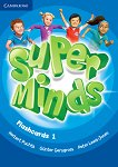 Super Minds - ниво 1 (Pre - A1): Флашкарти по английски език - Herbert Puchta, Gunter Gerngross, Peter Lewis-Jones -