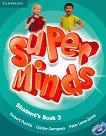 Super Minds - ниво 3 (A1): Учебник по английски език + DVD-ROM - учебник