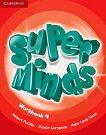 Super Minds - ниво 4 (A1): Учебна тетрадка по английски език + онлайн материали - Herbert Puchta, Gunter Gerngross, Peter Lewis-Jones - учебна тетрадка