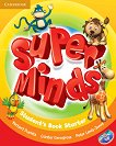 Super Minds - Starter (Pre - A1): Учебник по английски език + DVD-ROM - Herbert Puchta, Gunter Gerngross, Peter Lewis-Jones - книга