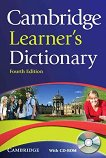 Cambridge Learner's Dictionary + CD: Fourth Edition -