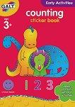 Galt: Да се научим да броим - образователна книжка със стикери : Counting - sticker book -