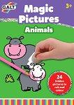 Galt: Животни - книжка за изтриване и оцветяване Animals - Magic Pictures Book -
