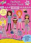 Galt: Модерни момичета - книжка със стикери : Girl Club Fashion Sticker Book -