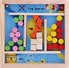 Лабиринт с топчета - Русалка - Логическа игра -