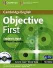 Objective First: ������ ���� �� ��������� ���� : ���� B2: ������� + CD-ROM - Third Edition - Annette Capel, Wendy Sharp - ��������