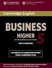 Cambridge BEC: Учебна система по английски език : Ниво C1 - Higher 5: Учебник с отговори -