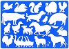 Шаблон - Животните от фермата