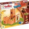 """Малка средновековна крепост - 3 в 1 - Детски сглобяем модел от истински тухлички от серията """"Teifoc: Professional"""" -"""