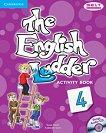The English Ladder: Учебна система по английски език Ниво 4: Учебна тетрадка + CD -