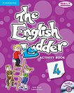 The English Ladder: Учебна система по английски език : Ниво 4: Учебна тетрадка + CD - Susan House, Katharine Scott -