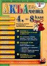 Акълчета: 4., 5., 6., 7. и 8. клас : Национално списание за подготовка и образователна информация - Брой 26 -
